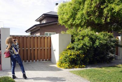 La casa de Cristina Kirchner vale el doble de lo que declaró Los Sauces SA. Foto Opi Santa Cruz.