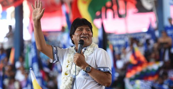 Evo Morales Congreso del MAS