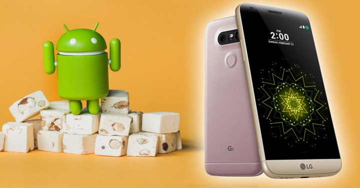 LG G5 con android 7 nougat