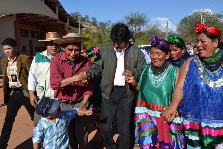 Evo se reunirá con guaraníes para reactivar pactos políticos