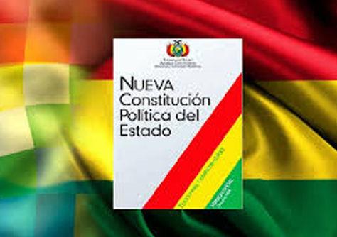 La actual Constitución Política del Estado