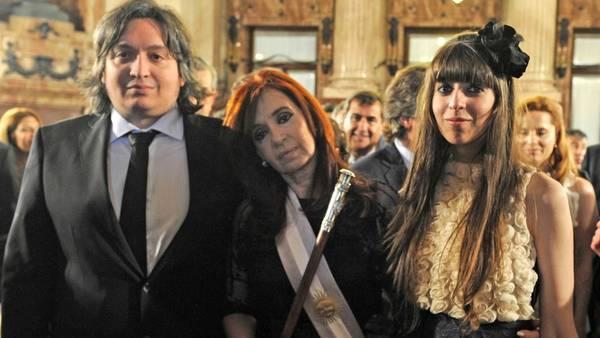 Los Kirchner removidos de sus cargos en Los Sauces SA. Foto Archivo Clarín.