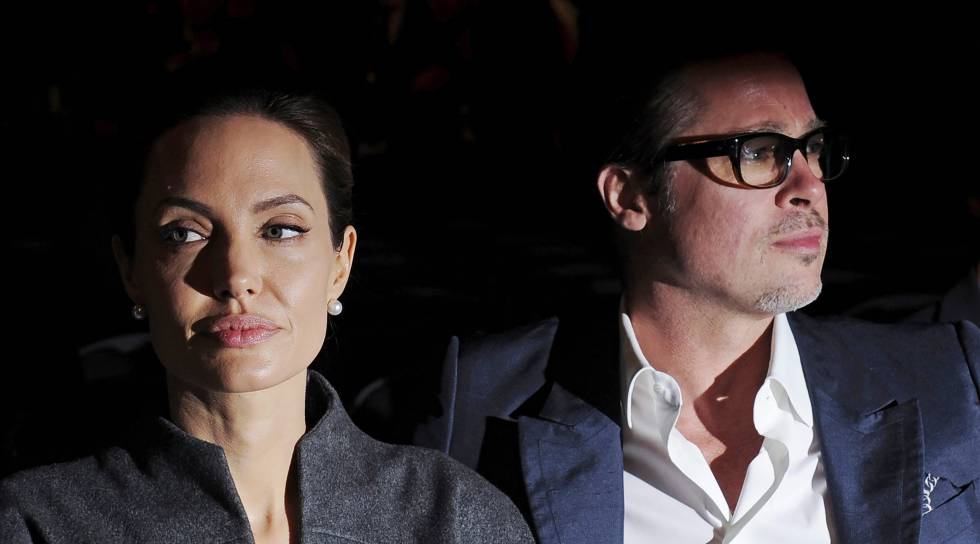 Angelina Jolie y Brad Pitt el 13 de junio de 2014.