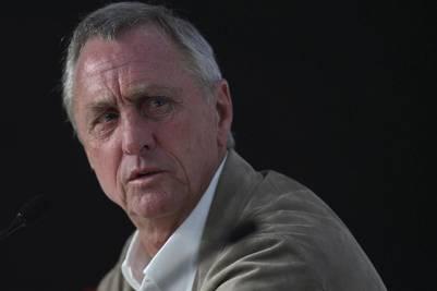 Johan Cruyff, emblema del Barcelona y de la selección de su país.
