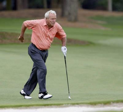 El golfista estadounidense Arnold Palmer