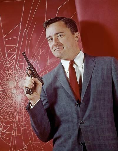 El actor Robert Vaughn
