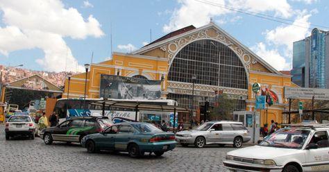 Terminal de buses de La Paz