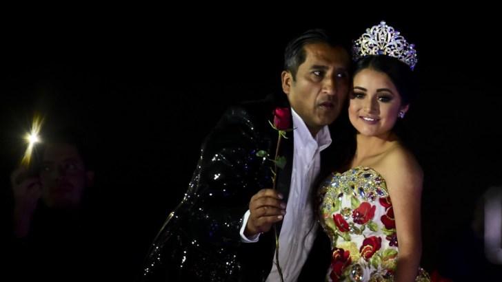 Todo México posó los ojos sobre el evento viralizado a través de las redes sociales (AFP)