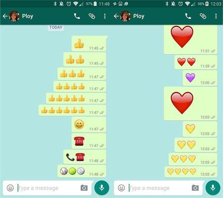 Emoji gigantes