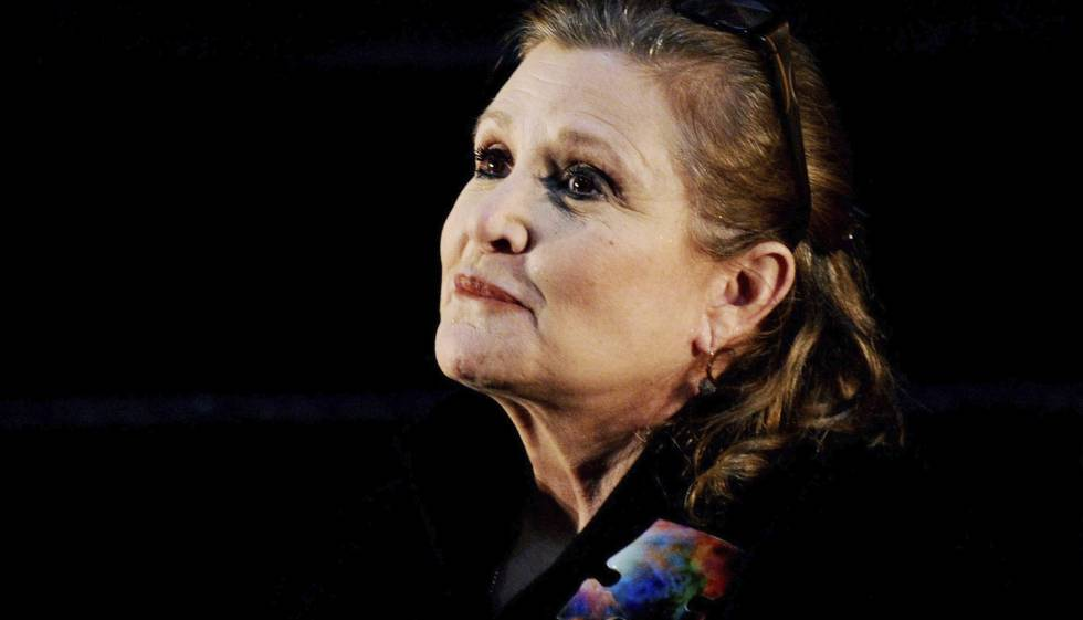 Carrie Fisher durante el evento de Supanova Pop Culture Expo en Sídney, Australia.