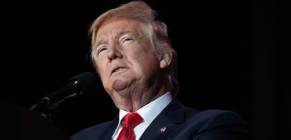 Trump, el pasado día 16 en Orlando (Florida)