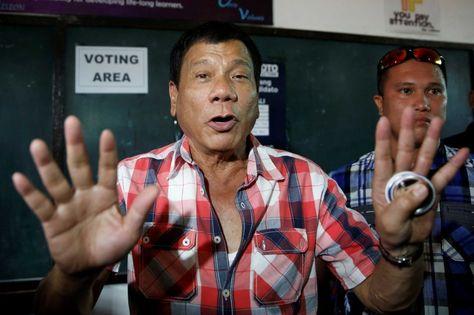 Rodrigo Duterte, presidente de Filipinas. Foto: EFE