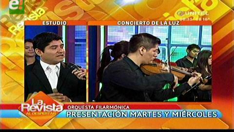 Concierto de fin de año brindará la Orquesta Filarmónica Santa Cruz