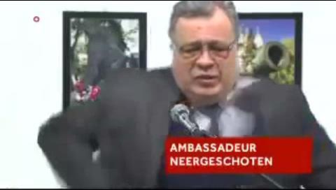 Vea el vídeo del asesinato a quemarropa del embajador ruso en Turquía