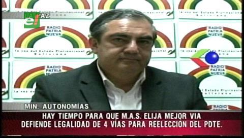 Siles: Cuatro vías para habilitar a Morales son constitucionales