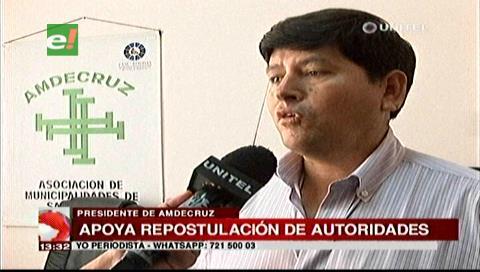 Presidente de Amdecruz apoya la repostulación de las autoridades nacionales