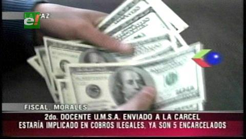 Envían al penal de San Pedro a docente de la UMSA por cobros irregulares