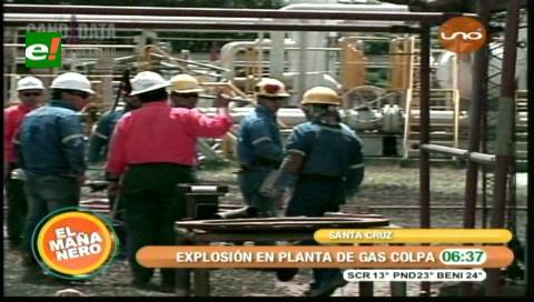 Dos heridos tras explosión en Planta de Tratamiento de gas Colpa