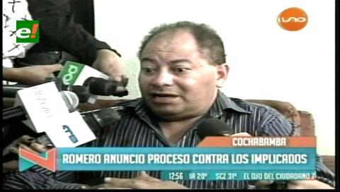 """Romero presentará """"acción criminal"""" contra responsables de """"secuestro"""" de viceministro"""