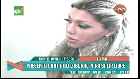 Justicia rechaza pedido de cesación de la detención preventiva a Gabriela Zapata