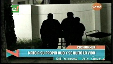 Cochabamba: Mujer mata a su hijo y se suicida