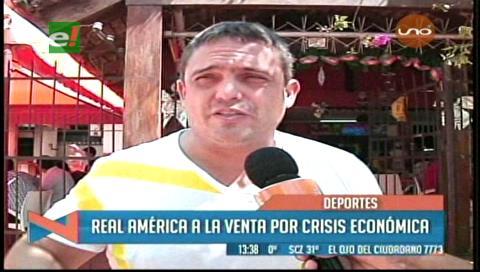 Club Real América está a la venta por crisis económica