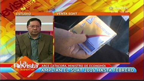 """Ministro Arce y el conflicto por el SOAT: """"Eso pasa en toda actividad y siempre sucederá"""""""