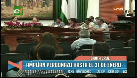 Santa Cruz: Amplían el 'perdonazo' tributario hasta el 31 de enero