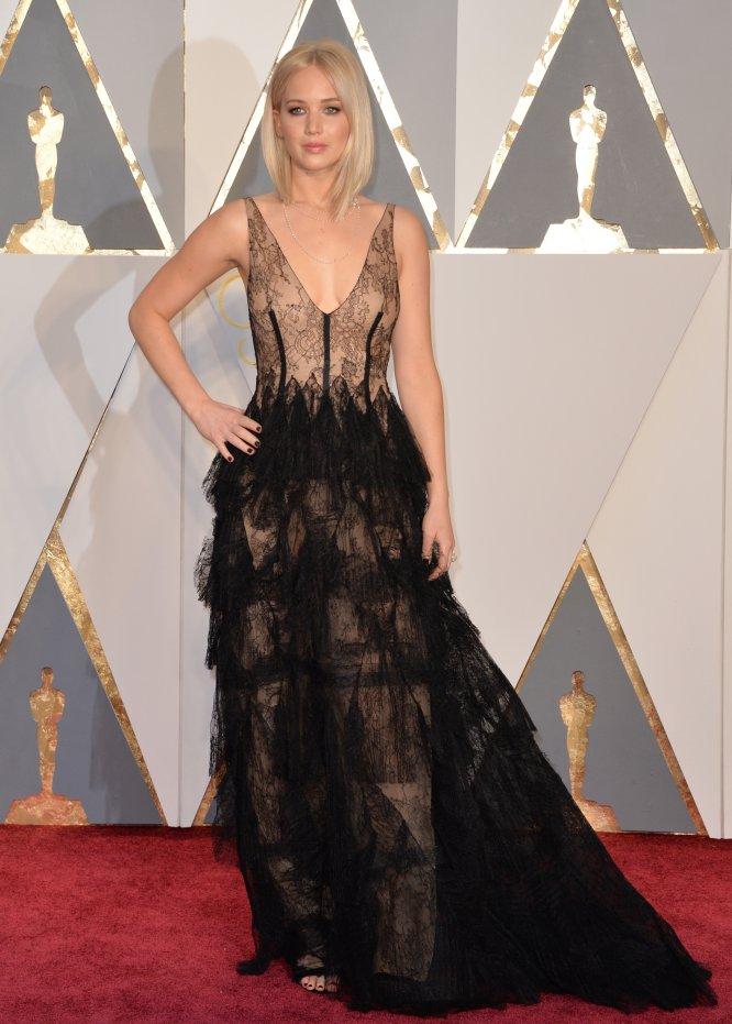 Jennifer Lawrence, que ocupa el