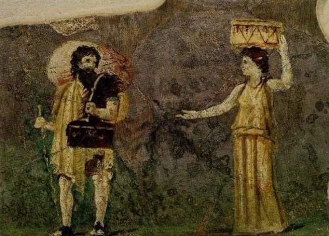 Crates e Hipatia.