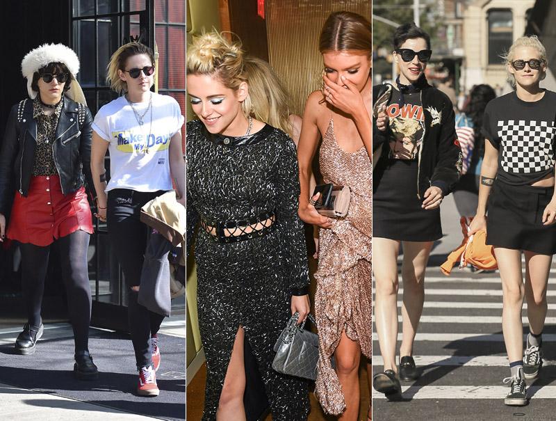 Kristen Stewart y sus múltiples romances en 2016: lo empezó con la cantante Soko, salió con St Vincent cuando ésta rompió con Cara Delevingne y ha acabado el año con la modelo de Victoria