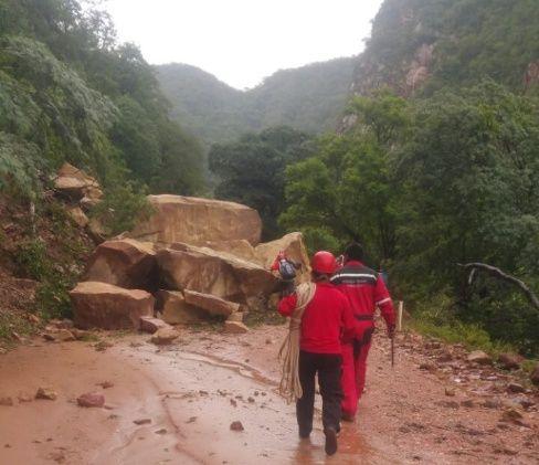 Deslizamiento en Villa Montes