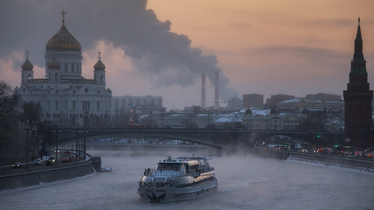 'Nochefría': Moscú celebra la Navidad más gélida de los últimos 120 años (Fotos)