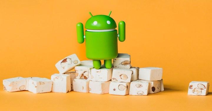 Robot de Android Nougat