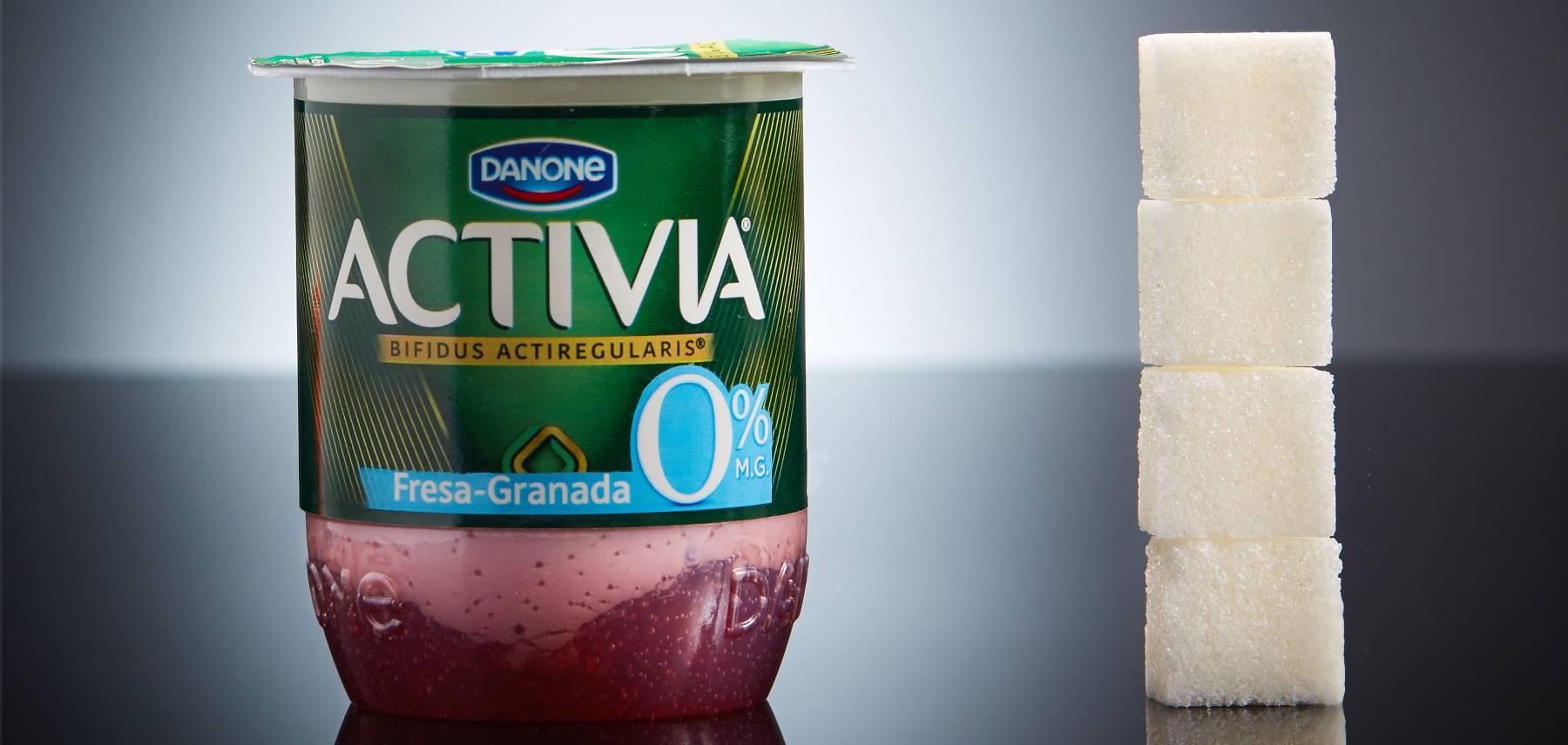Las fotos que muestran el azúcar oculto en tu comida