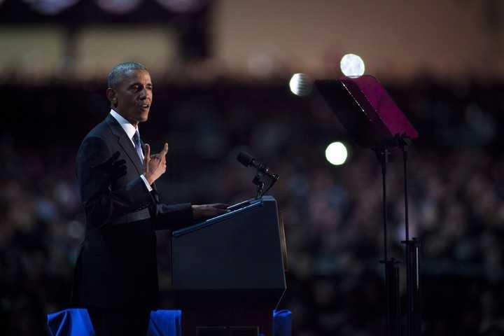 Las diez mejores frases del discurso de despedida de Barack Obama