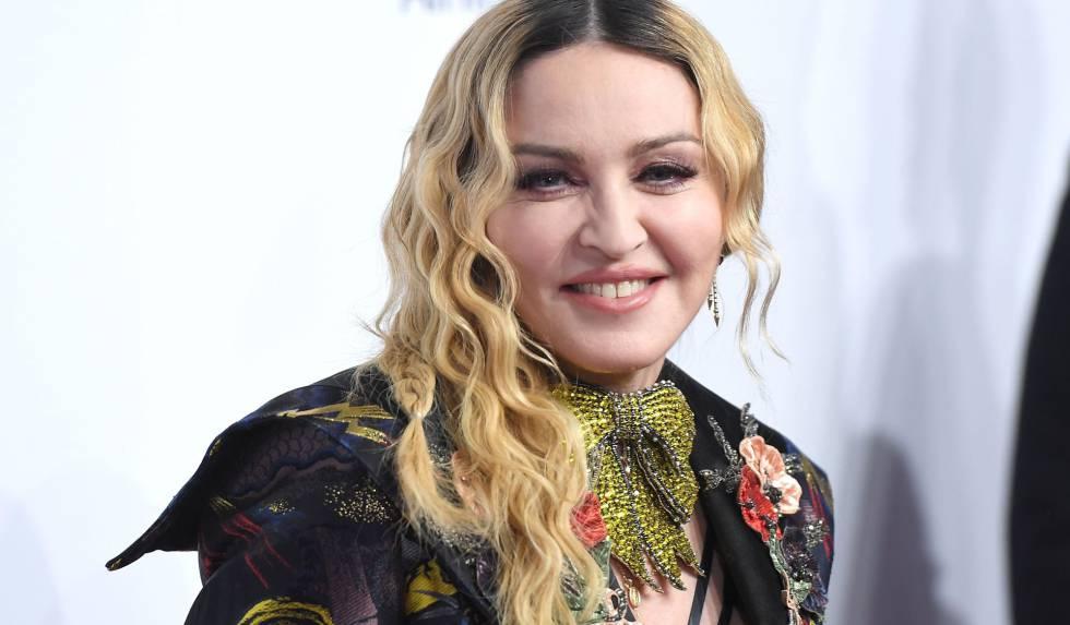 Madonna, en la entrega de los premios Billboard Women in Music 2016 .