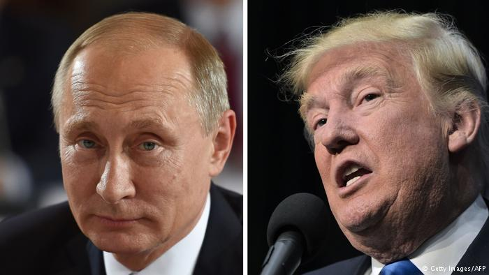 Symbolbild Trump Putin (Getty Images/AFP)