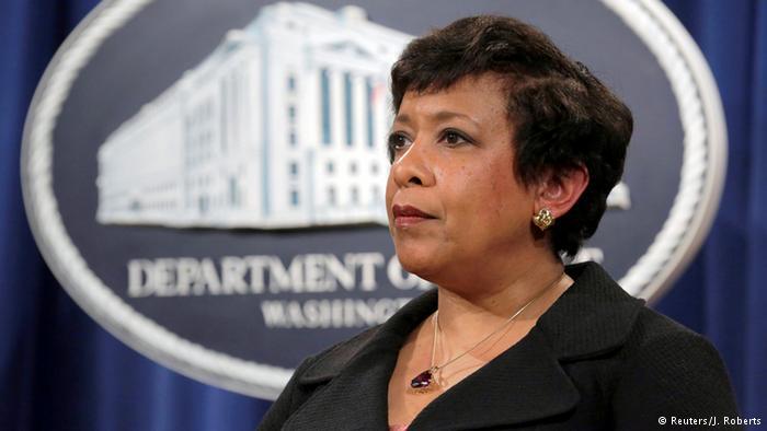 USA Attorney General Loretta Lynch (Reuters/J. Roberts)