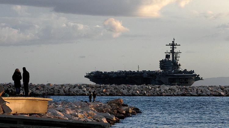 EE.UU. envía portaaviones y destructores al Mediterráneo y Oriente Medio