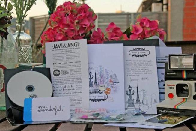 Los primeros diseños de Mr Wonderful para bodas (entre ellas, la de Angi y Javi).
