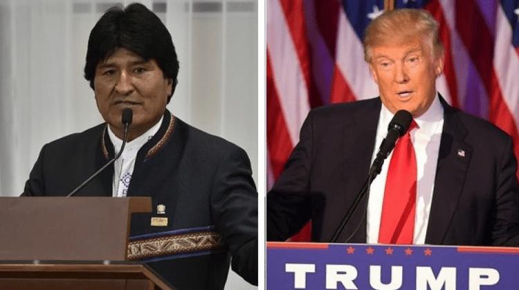 Trump y Evo 1