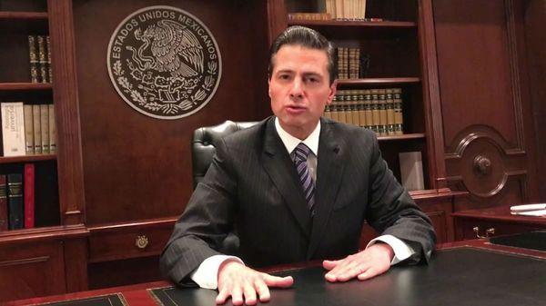 El presidente de México Enrique Peña Nieto.