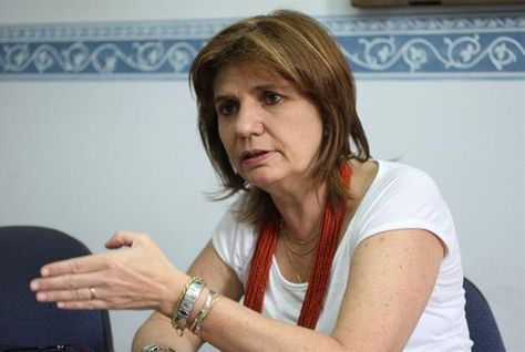 La ministra de Seguridad de Argentina, Patricia Bulrrich.