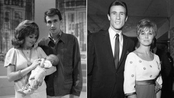 Karen Klaas y Bill Medley, junto a su pequeño bebé Darrin. La mujer sería violada y asesinada en su casa de Hermosa Beach en 1976