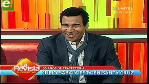 Julio Sabala te regalará  «Una noche de locura» junto a Ronico Cuéllar, Oliver Montoya y Pablo Fernández