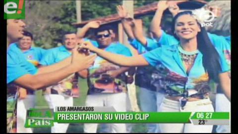 Coronadores de Warnes presentaron videoclip carnavalero
