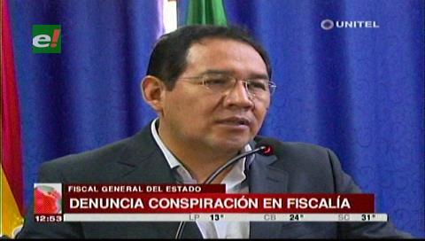 Fiscal General denuncia una presunta conspiración en el Ministerio Público