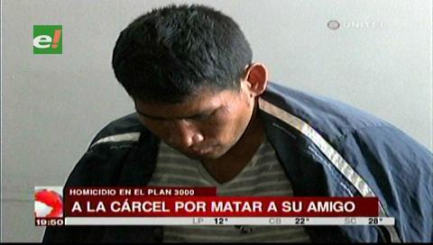 Envían a Palmasola al hombre que apedreó a su amigo por una deuda de Bs. 25
