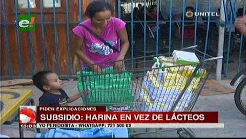 Falta de lácteos en el subsidio: Diputado Dorado anuncia investigación